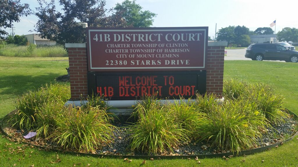 Clinton Township Bail Bonds District Court 41B