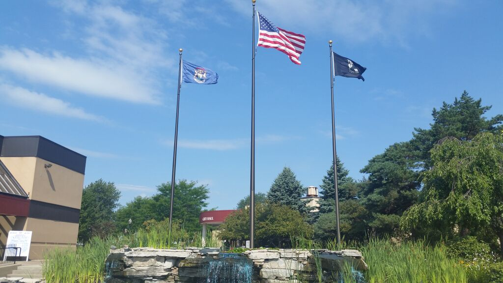 Sterling Heights Bail Bonds Flags